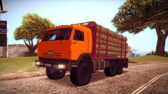 KAMAZ 54115 Holz Träger