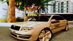 Skoda Superb 2.2 Spanish TAXI für GTA San Andreas