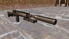 Le fusil semi-automatique M14