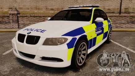 BMW 330i Metropolitan Police [ELS] für GTA 4