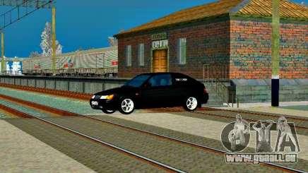LADA 2112 coupé vert Sandpiper pour GTA San Andreas