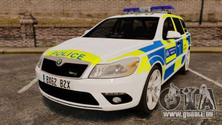 Skoda Octavia RS Metropolitan Police [ELS] pour GTA 4