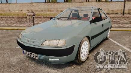 Citroen Xantia 1999 pour GTA 4
