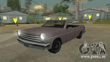 Perennial Cabriolet für GTA San Andreas