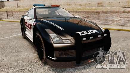 GTA V Police Elegy RH8 pour GTA 4