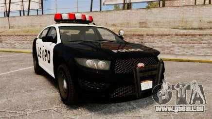 GTA V Vapid Police Interceptor LSPD für GTA 4