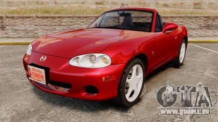Mazda (Miata) MX-5 pour GTA 4