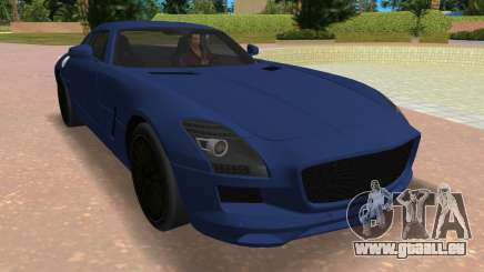 Mercedes-Benz SLS AMG V12 pour GTA Vice City