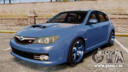 Subaru Impreza 2010 für GTA 4