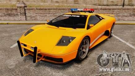 Infernus Police pour GTA 4