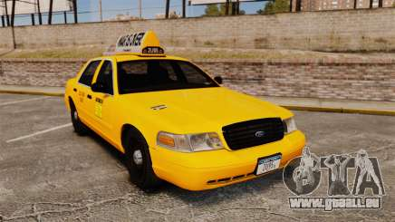Ford Crown Victoria 1999 LCC Taxi pour GTA 4