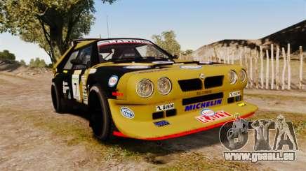 Lancia Delta S4 GroupB pour GTA 4