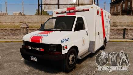 Brute B.C. Ambulance Service [ELS] pour GTA 4