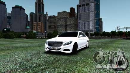 Mercedes-Benz S-Class W222 2014 pour GTA 4