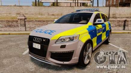 Audi Q7 Metropolitan Police [ELS] für GTA 4