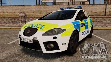 Seat Cupra Metropolitan Police [ELS] für GTA 4