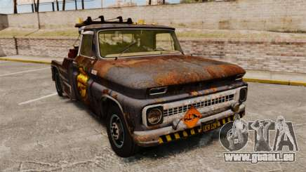 Chevrolet Tow truck rusty Stock pour GTA 4
