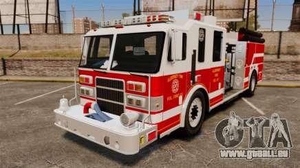 Firetruck Alderney [ELS] pour GTA 4