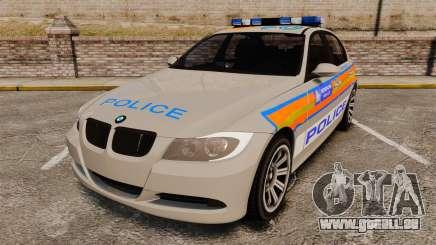 BMW 330 Metropolitan Police [ELS] pour GTA 4