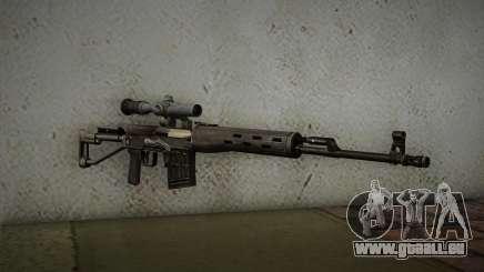 fusil 7,62 Dragunov SVD-s pour GTA San Andreas
