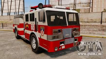 Feuerwehrauto für GTA 4