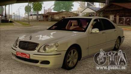 Mercedes-Benz W220 S500 4matic für GTA San Andreas