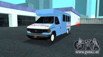 Ford Shuttle Bus pour GTA San Andreas