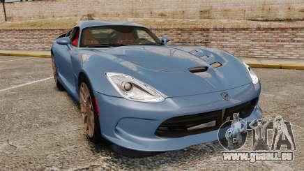Dodge Viper SRT TA 2014 Rebuild pour GTA 4