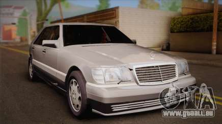 Mercedes-Benz S600 V12 Custom für GTA San Andreas