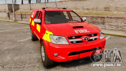 Toyota Hilux London Fire Brigade [ELS] für GTA 4