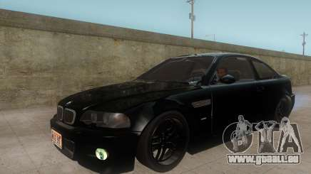 BMW M3 e46 Duocolor Edit für GTA San Andreas