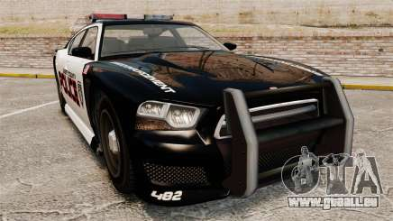 GTA V Bravado Buffalo Supercharged LCPD pour GTA 4