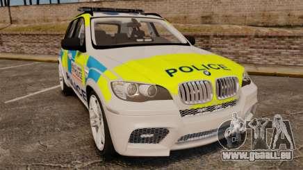 BMW X5 Police [ELS] pour GTA 4