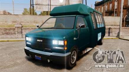 GTA V Brute Tour Bus pour GTA 4