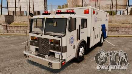 Hazmat Truck NOOSE [ELS] pour GTA 4