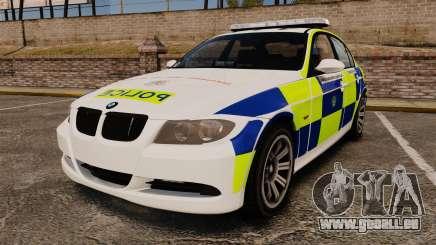 BMW 330i Hampshire Police [ELS] für GTA 4