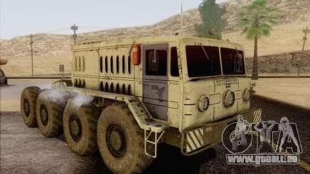 MAZ-535 White für GTA San Andreas