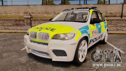 BMW X5 City Of London Police [ELS] pour GTA 4
