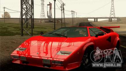 Lamborghini Countach LP500 Quattrovalvole 1988 pour GTA San Andreas