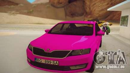 Skoda Rapid 2014 pour GTA San Andreas