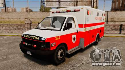 Brute Ambulance FDLC [ELS] pour GTA 4