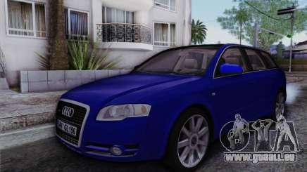 Audi A4 2005 Avant 3.2 Quattro Open Sky für GTA San Andreas