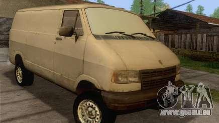 Dodge RAM Van 1500 pour GTA San Andreas
