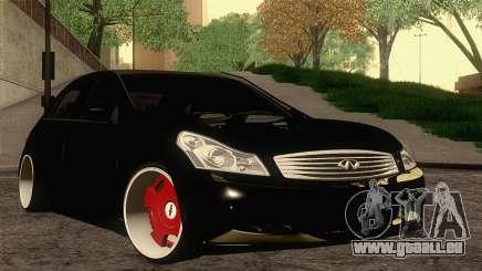 Infiniti G37 pour GTA San Andreas