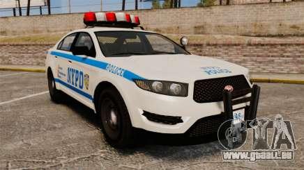 GTA V Police Vapid Interceptor NYPD für GTA 4