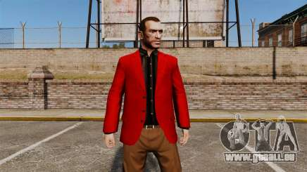 Veste rouge pour GTA 4