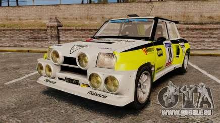 Renault 5 Turbo Maxi pour GTA 4