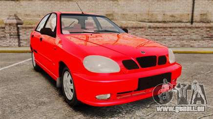 FSO Lanos Plus 2007 Limited Version pour GTA 4