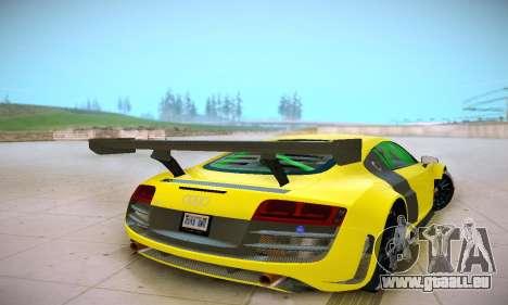 Audi R8 LMS Ultra v1.0.0 pour GTA San Andreas vue de droite