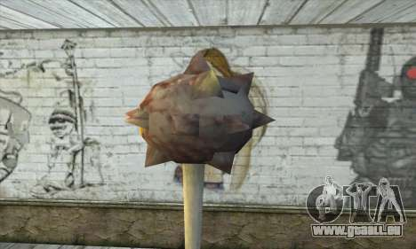 Spikes Hammer pour GTA San Andreas deuxième écran